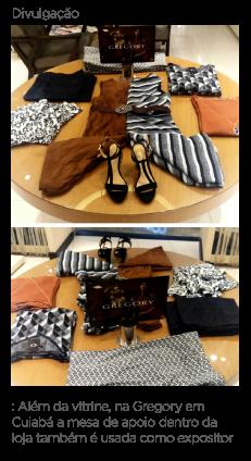 7320d7455 Ela cita como exemplo de loja bem resolvida no que diz respeito ao visual  merchandising, a loja Gregory. A gerente da unidade do Pantanal Shopping,  ...